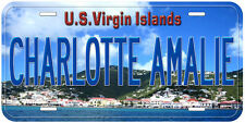 Charlotte Amalie US Virgin Islands Novelty Car License Plate A01
