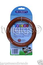 Hi-craft 🐶 Toyboy ™ Dog Chew Poulet aromatisé nylon anneau de dentition jouet 🇬 🇧