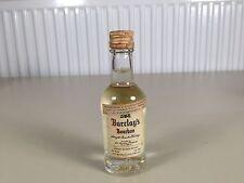 Mignonnette mini bottle non ouverte whisky barclay's