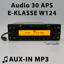Mercedes Audio 30 APS AUX-IN MP3 W124 Navigationssystem E-Klasse Radio CD Navi