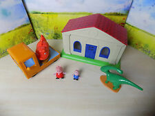 """PEPPA PIG MUSEUM + TRUCK + 2 + 2 cifre DINOSAURS """"completo"""""""