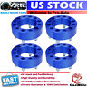 "4pcs Wheel Spacers 6x5.5 2"" thick 14x1.5 Studs For Chevy Silverado Sierra 1500"
