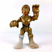 "rare Hasbro Star Wars Playskool Heroes Jedi Force C3PO 2.5"" figure Collect toy"