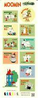 JAPAN GIAPPONE 2015 MOOMIN MANGA CARTONI ANIMATI   LIMITED EDITION  MNH**
