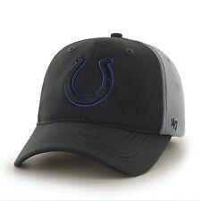 Indianapolis Colts 47 Brand Game Time Closer Hat Stretch Fit Flex Cap Feldspar