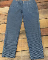 Jofit Golf Activewear Women's Cropped Pants size 4 Gingham New NWT H215