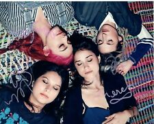 Warpaint Band Elephants New Song Signed 8X10 Photo C