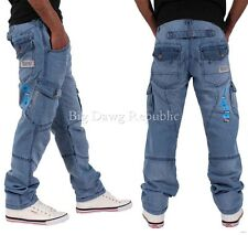 PEVIANI FENCHURCH CARGO COMBAT STAR MENS BOYS JEANS IS TIME NAPPY G MONEY SWB