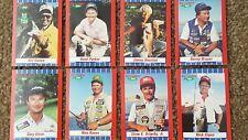 90' BIG LEAGUE BASS FISHING CARDS JIMMY HOUSTON BILL DANCE DENNY BRAUER GRIGSBY