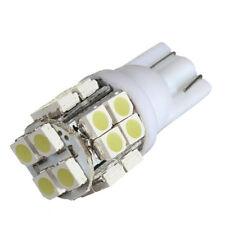 10X LED T10 20-SMD Bombilla Luces Coche Super Brillante Blanca-194 168 2825 W5W