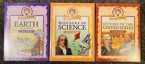 Professor Noggins Games Earth Science History US Wonders of Science 3 SEALED!