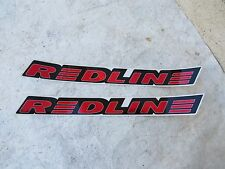 REDLINE DECALS RL RED bmx cruiser freestyle VINTAGE NOS