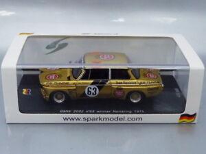 1/43 Spark BMW 2002 #63 WINNER NORISRING 1975