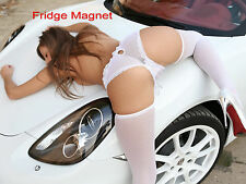 Sexy Hot Blonde Model Girl Bikini Fridge Tool Box Magnet Refrigerator M218