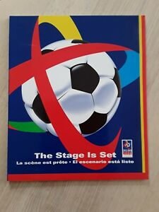 """England 2006 """"The Stage is Set"""" World Cup failed bid official brochure"""