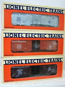 Lionel 6-19247: 6464 Boxcar Series Edition ONE (1)  WP, GN, M & STL  NIB