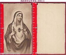 1975 SANTINO HOLY CARD MADONNA SACRO CUORE DI MARIA VERGINE EB 167 COME FOTO
