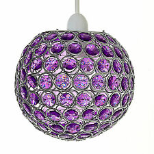 Chandelier Modern Style Ceiling Pendant Light Shade Acrylic Crystal Droplet Bead