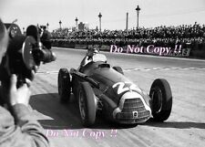 Juan Manuel Fangio Alfa Romeo 159 M Winner Spanish Grand Prix 1951 photo