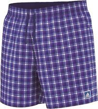 Adidas Men's Swimming Shorts Checked Shorts SL, Swim Trunks, S17743