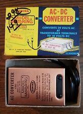 AURORA MoDEL MoToRING SLOT CAR RACING AC-DC TRANSFORMER CURRENT CONVERTER #1511