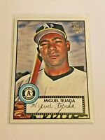 2007 Topps '52 Baseball Debut Flashbacks - Miguel Tejada RC - Oakland Athletics