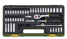 """Proxxon Steckschlüsselsatz mit Knüppelratsche, 1/4"""", 50-tlg."""