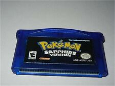 ***POKEMON SAPPHIRE VERSION GAMEBOY ADVANCE GAME GBA AUTHENTIC***