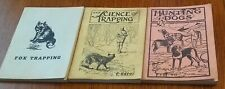 (3) A.R. Harding Trapping/Hunting Books