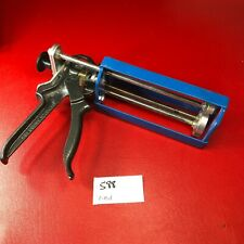 New listing Cox Dual Component Caulk Gun Blue gray nice condition replacement part tool