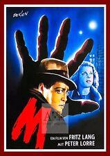 M     German Movie Posters Classic Vintage Films