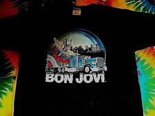 * BON JOVI The Circle Canada Concert Tour * NEW T Shirt L Double Sided w Dates
