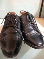 BROGUE OXFORD LADIES leather shoes