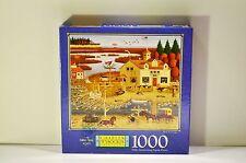 Charles Wysocki Birds of a Feather 1000 Piece Puzzle NEW SEALED 1999