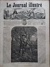 LE JOURNAL ILLUSTRE 1867 N 184 LES ENFANTS EGARES, nouvelle de M.F. SARCEY