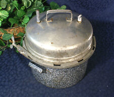 Vintage BURPEE SPECIAL COOKER Enameled  Pressure Cooker