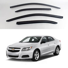 New Smoke Window Vent Visors Rain Guards for Chevrolet Malibu 2013