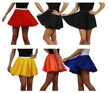"""15"""" Skater Skirt Full Circle New Style 1960s Girl -70s Fashion Ladies"""