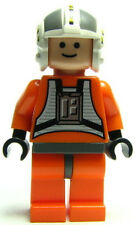 NEW LEGO STAR WARS WEDGE ANTILLES MINIFIG 6212 X-Wing Fighter Pilot minifigure