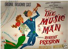The Music Man-1957-Robert Preston-Original Broadway Cast-Record LP
