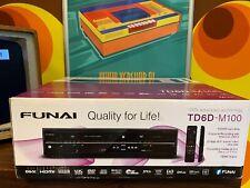 Funai TD6D-M100 - HDD & DVD & VHS videorecorder Combi (HDMI) 500GB (NEW - BOXED)
