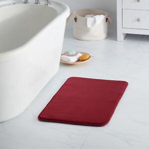 Sweet Home Collection Memory Foam No Slip Back Contour Bath Mat Rug Asst Sizes
