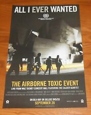 The Airbone Toxic Event All I Ever Wanted Poster Original Promo 17x11