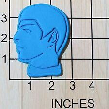 Spock's Head Shape Fondant Cookie Cutter AND Stamp #1627