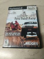 Paris-Dakar Rally PlayStation 2 PS2