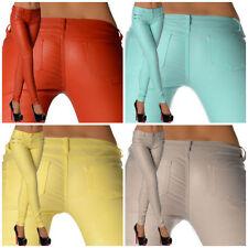 Jeans da donna slim, skinny grigio