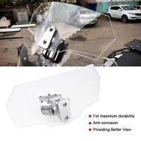Parabrisas ajustable pantalla de viento moto Deflector Motocicleta Set Nuevo