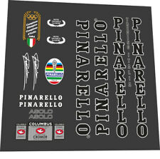 PINARELLO1 GAN Bike Bicycle Frame Decals Vinyl Black//White//Red//Yellow Stickers
