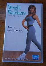 Weight Watchers Trainingsprogramm Body-Stretching Fitneß Abnehmen VHS Videofilm