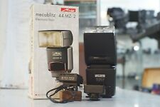 Metz Mecablitz 44 MC-2 Electronic Flash Boxed with Leica Flash Mount